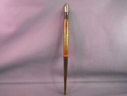 Carter#x27;s Vintage Jade Green Desk Pen working fine point nib $120.00