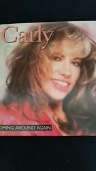 CARLY SIMON-COMING AROUND AGAIN 1987 ARISTA VINYL LP 33RPM SOFT ROCK  ROCK