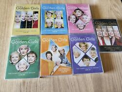 Golden Girls Complete Series Seasons 1-7 Brand New Free Shipping!