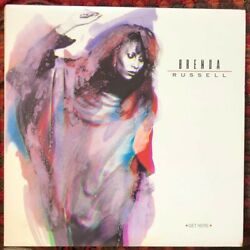BRENDA RUSSELL LP Vinyl RECORD 1988 Get Here A&M Piano In The Dark CLASSIC Nice