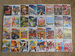 Nintendo Wii Games You Choose from Large Selection $5.95 Each $5.95