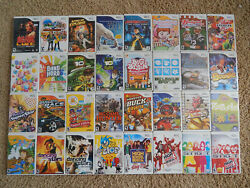Nintendo Wii Games Choose from Large Selection $3.95 $5.95 Each Buy 3 Get 1 $5.95