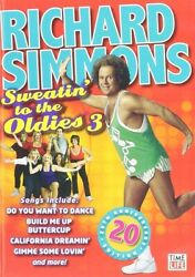 RICHARD SIMMONS SWEATIN TO THE OLDIES 3 New Sealed DVD 20th Anniversay