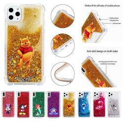 Cute Cartoon Pattern Soft Quicksand Case Cover For iPhone 11Pro Max 5s 6 SE 2020 $8.09