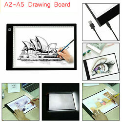 A2A3A4A5 LED Light Box Tracer Tracing Light Table Painting Pad Board G1M0