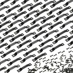 200x Sawtooth Picture Hangers Frame Hanging Kit Double Hole with Screws 1.625quot; $10.99