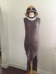 ALL SAINTS Stunning Two Way Dress Side Ruching Uber Sexy S M $89.00