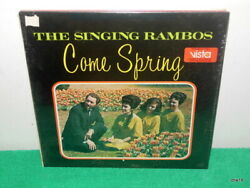 THE SINGING RAMBOS - COME SPRING - SEALED VINYL LP