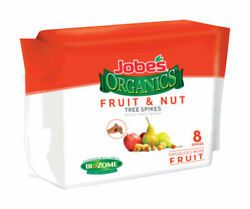 Jobe#x27;s Organics Fertilizer Spikes For Fruit amp;amp; Nut 8 pk $18.13