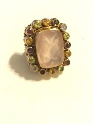Nicky Butler Vintage Bronze Ring Size 6. In Box