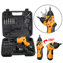 45 in 1 Power Tool Rechargeable Cordless Electric Screwdriver Drill Kit Wireless $28.95