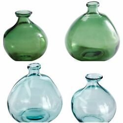 Recycled Glass Balloon Vase