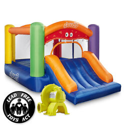 Cloud 9 Monster Bounce House with Slide and Blower Inflatable Bouncer with Bag $219.99