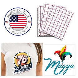 Iron on Heat Transfer Paper Light Fabrics Red Grid 8.5quot; x 11quot; 200 sheets $67.99