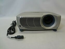 Sony VPL-PX15 LCD Data Projector wLamp *No Remote* $18.00