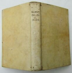 1749 VELLUM BOUND SUMMA S. THOMAE CURSUS THEOLOGICAE Part 3 Vol. 2 antique LATIN $199.99