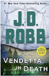 Vendetta in Death: An Eve Dallas Novel (In Death Book 49) by JD Robb (Hardcover