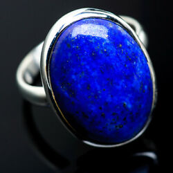 Large Lapis Lazuli 925 Sterling Silver Ring Size 12.5 Ana Co Jewelry R969767