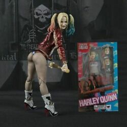 Suicide Squad Harley Quinn Joker Action Figure PVC S.H.Figuart Boxed Gift Toy UK