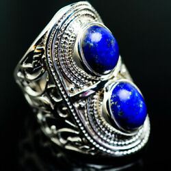 Gigantic Lapis Lazuli 925 Sterling Silver Ring Size 7 Ana Co Jewelry R975362F