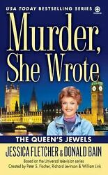 The Queen's Jewels (Murder She Wrote Book 34)  (ExLib)