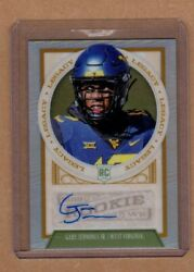 Gary Jennings Jr. Seahawks  West Virginia 2019 Legacy SILVER PRIZM AUTOGRAPH