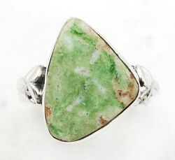 Natural Azurite 925 Solid Sterling Silver Ring Jewelry Sz 7 C27-1