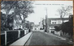Provincetown MA 1930s Postcard: Commercial Street East End Massachusetts