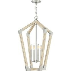 Quoizel Fable 4 Light Chandelier Antique Nickel FB5204AN $114.99