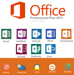 Office 2013 Professional Key Download and Activation For 1 PC Genuine