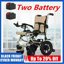Electric Lightweight Folding Motorized Power Wheelchair Medical Mobility Aid $1,045.99