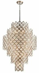 Corbett Lighting Tiara 17 Light Entry Pendant Vienna Bronze - 214-717