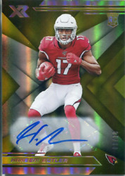 Hakeem Butler Autographed 2019 Panini XR Gold Rookie Card 810