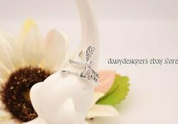 NEW Authentic Pandora Silver DREAMY DRAGONFLY Ring 52 6 197093CZ RETIRED