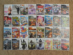 Nintendo Wii Games You Choose from Large Selection $7.95 Each $7.95