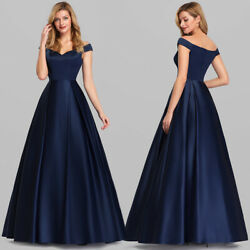 US Ever Pretty Women#x27;s V Neck Off Shoulder Evening Cocktail Dresses Gowns 7934 $26.99
