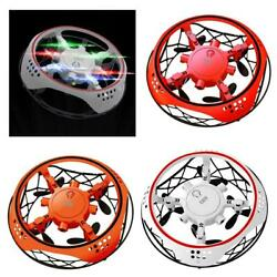 Hand Induction Mini UFO Drones Toy with LED Lights Night Flying Toy for Kids $18.13