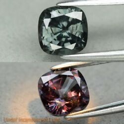Rare! 1.13ct Cushion Natural Unheated Color Change Garnet Africa