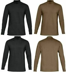 Under Armour 1316935 UA ColdGear Reactor Tactical Long Sleeve Mock Base Shirt $50.99