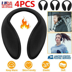 4 Ear Muffs Winter Ear Warmers Fleece Earwarmer Mens Womens Behind the Head Band