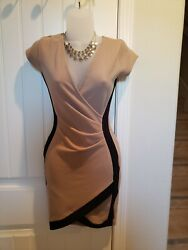 brown and black dresses size small $25.00