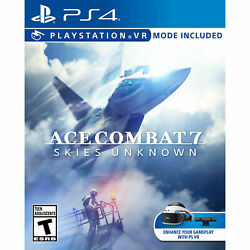 PLAYSTATION 4 ACE COMBAT 7 SKIES UNKNOWN BRAND NEW VIDEO GAME