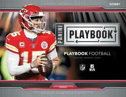 2019 Playbook Panini NFL Football Retail Base and Rookie Cards Pick From List