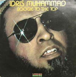 KU 38 - Idris Muhammad - Boogie To The Top - ID34z - vinyl LP