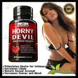 FEMALE Sexual Enhancement Libido Booster Natural Aphrodisiac Arousal Pills 60ct