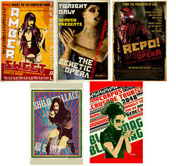 Repo The Genetic Opera Movie Poster 11inx17in 28cm x43cm SET OF 5 $35.95