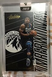 Jimmy Butler From Absolute. One Card Per Box. Very Expensive Brand. In Hard Case