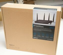 Synology RT2600ac 4x4 Dual-Band Gigabit Wi-Fi Router MU-MIMO Powerful 2600AC