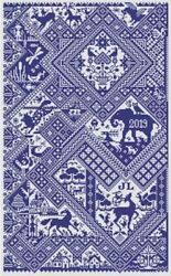 10% Off Long Dog Samplers Counted X stitch chart Sans Soucis $20.79