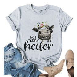 Cow Shirt Not Today Heifer Shirt Cow Tee Cowgirl Tee Cute Shirts